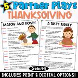Thanksgiving Partner Plays