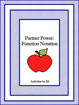 Partner Power: Function Notation