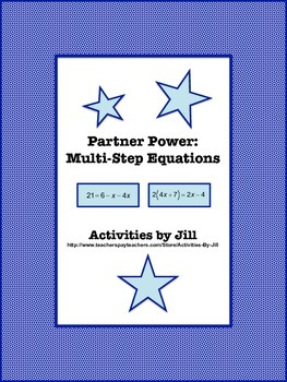 Partner Power: Multi-Step Equations