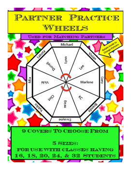 Partner Practice Wheels for Classroom Use