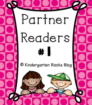 Partner Reader # 1 (Read To Someone)