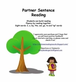 Partner Reading Sentences