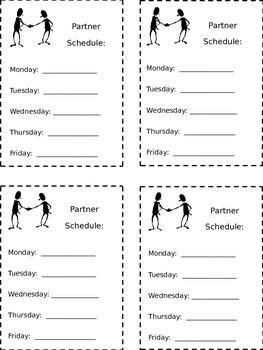 Partner Schedule