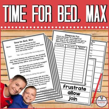 Partner Play: Time for Bed, Max