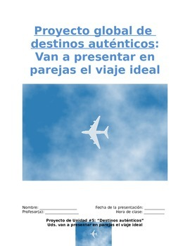 Project Sp1 - Travel Partners: Simulation to Spanish-Speak