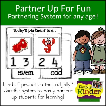 Partner Up for Fun Partnering System