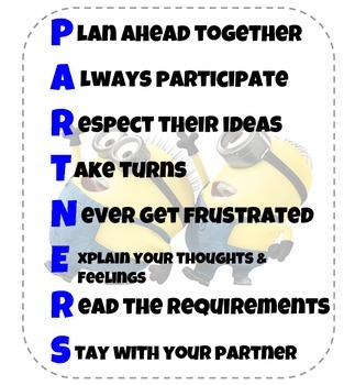 Partners Acronym Poster (Minions)