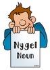 Parts Of Speech File Folder Game {Nouns, Verbs, Adjectives}