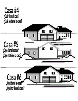 (Spanish/French) House Vocabulary-Parts of House- what is