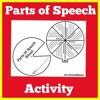 Parts of Speech Activity | Parts of Speech Craft