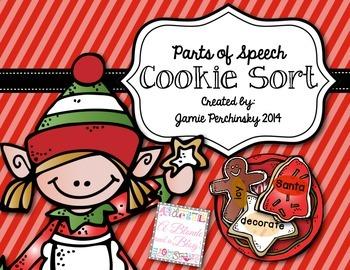 Parts of Speech Cookie Sort