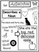 Parts of Speech Doodle Notes: Nouns, Verbs, Adjectives, an