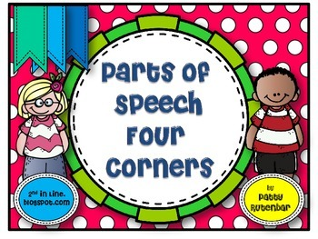 Parts of Speech Four Corners