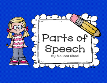 Parts of Speech Freebie!