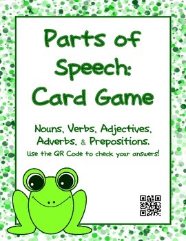 Parts of Speech GAME: Nouns, Verbs, Adjectives, Adverbs, P