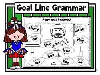 Parts of Speech-Goal Line Grammar