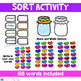 Parts of Speech Jellybean Sort Activity/ Center