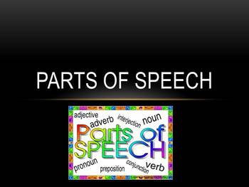 Parts of Speech Lecture