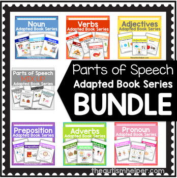 Parts of Speech BUNDLE Adapted Book Series