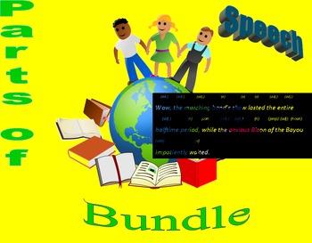 Parts of Speech Notes Bundle