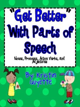 Parts of Speech (Noun, Pronoun, Action Verb, Adjective, Mixed)