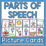 Parts of Speech Picture Cards
