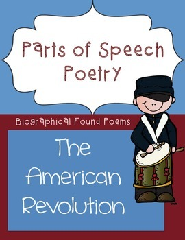 Parts of Speech Poetry - American Revolution