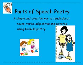 Parts of Speech Poetry