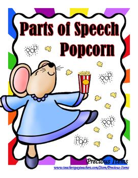 Parts of Speech - Popcorn