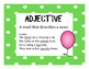 Parts of Speech Posters FREEBIE
