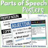 Parts of Speech Posters & Bookmarks