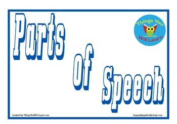 Parts of Speech Posters (Low Ink)