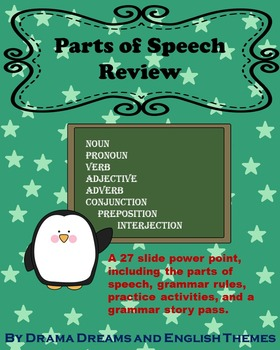 Parts of Speech Powerpoint Review