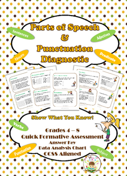 Parts of Speech & Punctuation Diagnostic