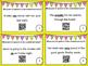 Parts of Speech QR Code Task Cards