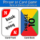 "Parts of Speech & Sentence Game - ""Phrase 10"""