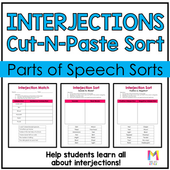 Interjections Sort