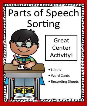 Parts of Speech Sorting