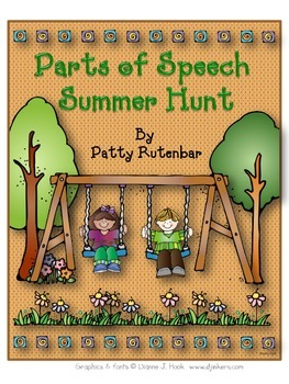 Parts of Speech Summer Hunt
