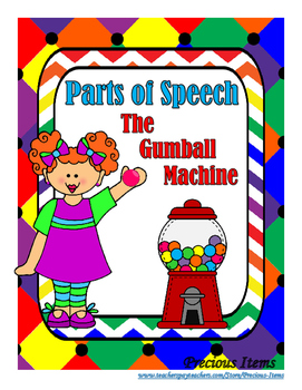 Parts of Speech - The Gumball Machine