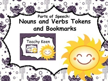 Parts of Speech Tokens and Bookmarks: Nouns and Verbs