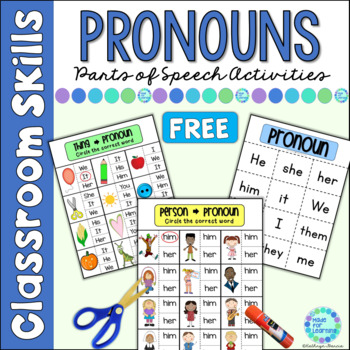 Parts of Speech (Grammar) for Beginners: Pronouns