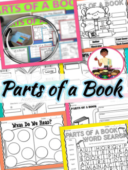 Parts of a Book {Assessment Included}
