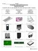 Parts of a Computer Worksheet for Grades K-6