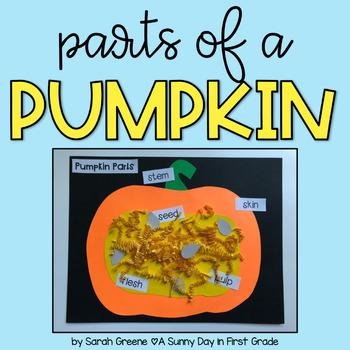 Parts of a Pumpkin {a craftivity!}