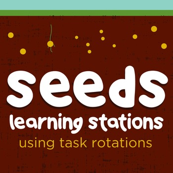 Parts of a Seed Learning Stations using Task Rotations and