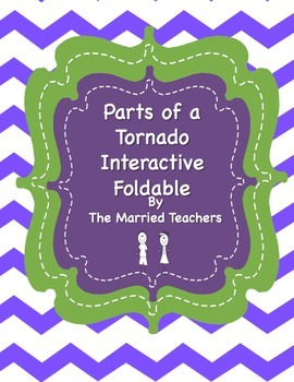 Parts of a Tornado Interactive Foldable