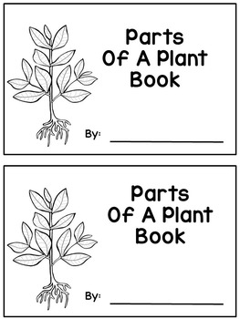 Parts Of A Plant Reader - Differentiated (read, trace, wri