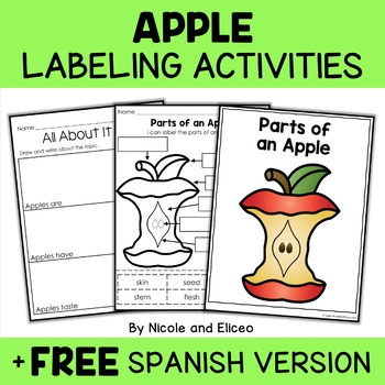 Parts of an Apple Activity