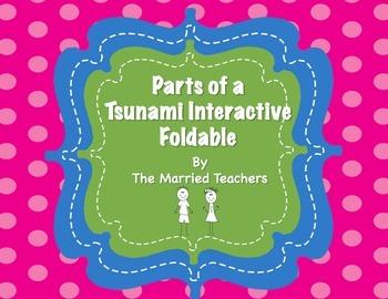 Parts of an Tsunami Interactive Foldable